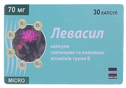add.ua-Micro Labs (Индия)-Левасил 70 мг капсулы №30-30