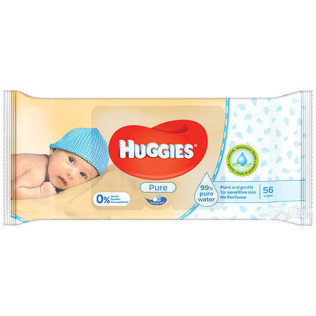 add.ua-Kimberly-Clark-Салфетки влажные Huggies Pure №56-20