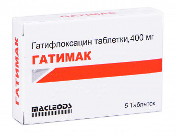 add.ua-Macleods Pharmaceuticals Ltd (Индия)-Гатимак 400 мг таблетки №5-33