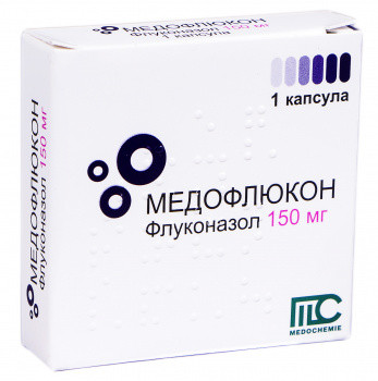 add.ua-Medochemie (Кипр)-Медофлюкон 150 мг капсули №1-32