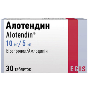 add.ua-Egis (Венгрия)-Алотендин 10/5 мг таблетки №30-20